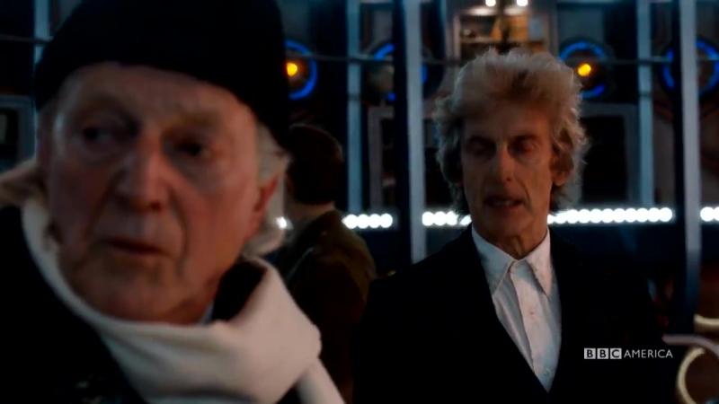 Клип из рождественского выпуска Доктора Кто: старый и молодой