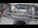 ВАЗ 2106 замена полика бензобака, полика под запаску, ремонт задней стойки