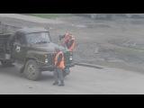 ЧП Россия  рейд по бездорожью заплатки на маслянинских дорогах