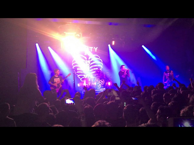 All Fucked Up The Amity Affliction Live Melbourne 170 Russell 2 9 2016