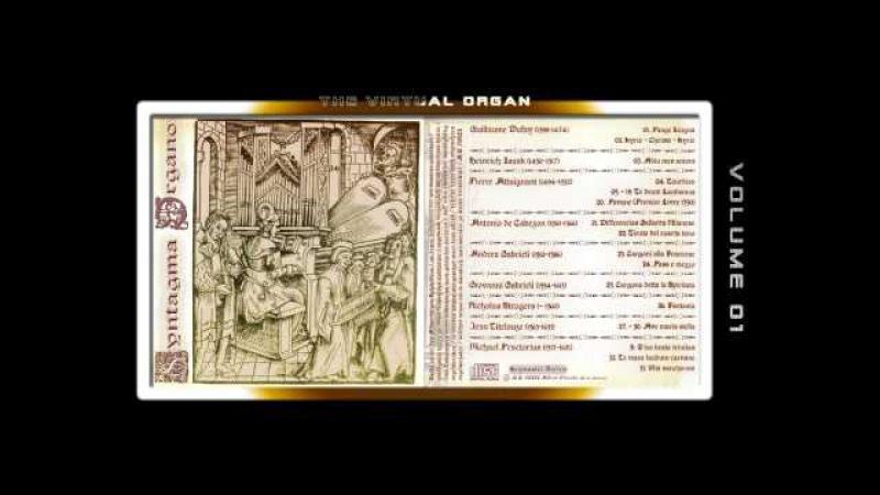 SYNTAGMA ORGANO 00 - Fred G. Pisecki, various organ Sample sets