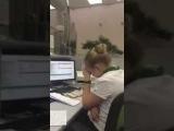 Идиот в банке