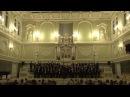 Сергей Танеев Из цикла Двенадцать хоров a capella для смешанных голосов на слова Я Полонского