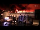 В Москве расследуют гибель восьми пожарных при тушении возгорания наскладе. Новости. Первый канал