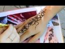 Мехенди тату хной аквагрим в парке Прибрежный/ Mehendi henna tattoo face painting in the Park