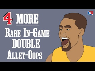 4 MORE Rare In-Game DOUBLE Alley-Oops