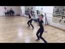 Anna Shcherbakova RUS Alexandra Trusova RUS Dance Practice with Alexei Zheleznyakov