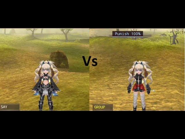 Iruna Online Emido Vs Struggler