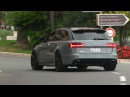 730HP Audi RS6 Performance w/ Straight Pipes Milltek Exhaust in Monaco | LOUD SOUNDS!