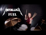 Metallica - Fuel (drum cover by Vicky Fates)