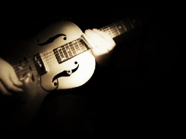 Krbi's guitar - Spoonful (bottleneck slide guitar)