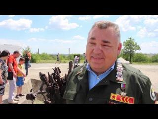 Открытие третьего трудового семестра на Солдатском поле
