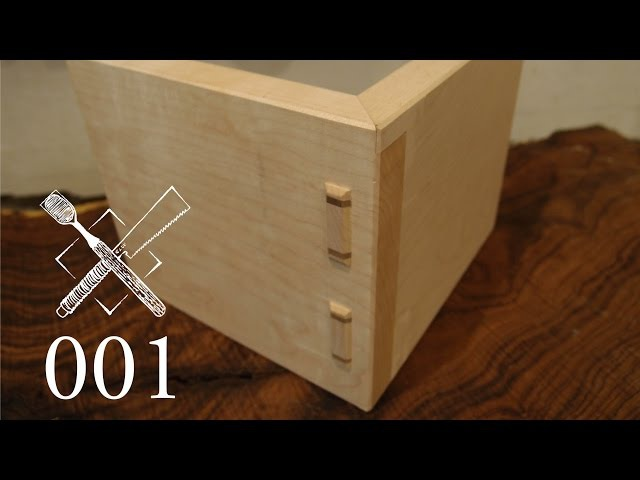 Joint Venture Ep.1: Wedged, mitered through tenons (Japanese Joinery)