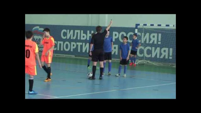 23.03.17. Лесосибирск 2005 - Рассвет (Красноярск) 2005 1:0 2-й тайм