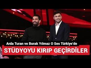 Burak Yılmaz & Arda Turan 'Haydi Söyle' Yılbaşı Özel O Ses Türkiye