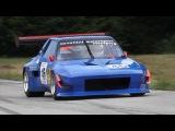 Fiat X1/9 Proto In Action On Hillclimb!! - Alfa Romeo 2.0 Engine Sound