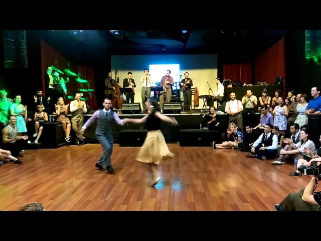 Orient Lindy Express 2015 - William Maeva Lindy Hop Showcase