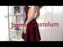 Vestido Escote Halter Espalda Descubierta -Jazmin Gastelum