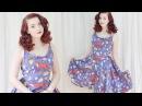 Making a Simple Summer Dress / The Doodles Dress