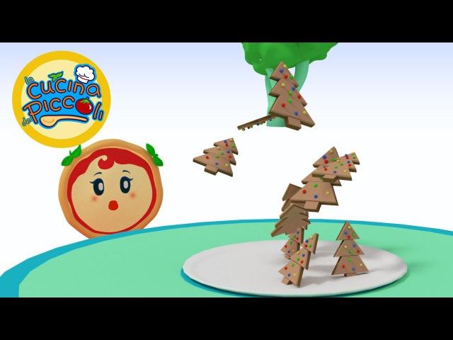 Biscotti di Natale semplici per bambini Margherita la piccola cuoca Cartoni animati per bambini