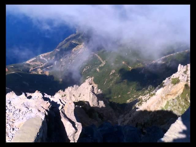 Святая гора Афон.Херувимская песнь - греческий распев. Holy mountain Athos.