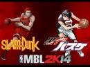 MBL 2K14 - Shohoku (Slam Dunk) VS Seirin (Kuroko No Basket)