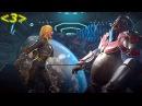 Injustice 2 Битвы - Персонажи - Костюмы - Приёмы: Черная Канарейка против Горилла гродд