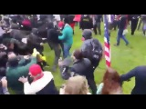 The Stick Man Strikes Down Antifa