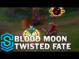 Blood Moon Twisted Fate Skin Spotlight - Pre-Release - League of Legends