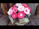 Мастер-класс цветы из фетра.