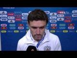 Yuri Zhirkov Post-Match Interview - Match 5 Russia v Portugal - FIFA Confederations Cup 2017