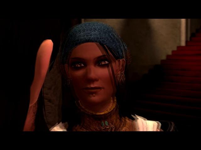 Dragon Age 2 - Любовная сцена с Изабеллой