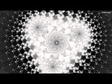 Cubed - DEEP Black and white raised power Mandelbrot zoom