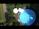 Женщина сбила дрон, пролетавший над ее бассейном видео – ONL