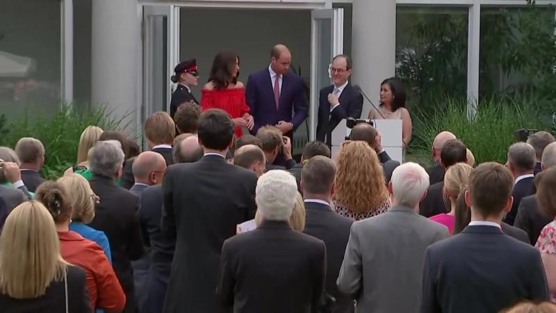 Вечеринка в резиденции британского посла в Берлине, 19.07.2017