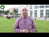 Заместитель имама центральной Джума мечети. Абдулла хаджи Ахалов.