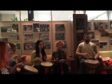 Индийская вечеринка - инструментальный вечер на барабанах с танцевальным сопровождением))