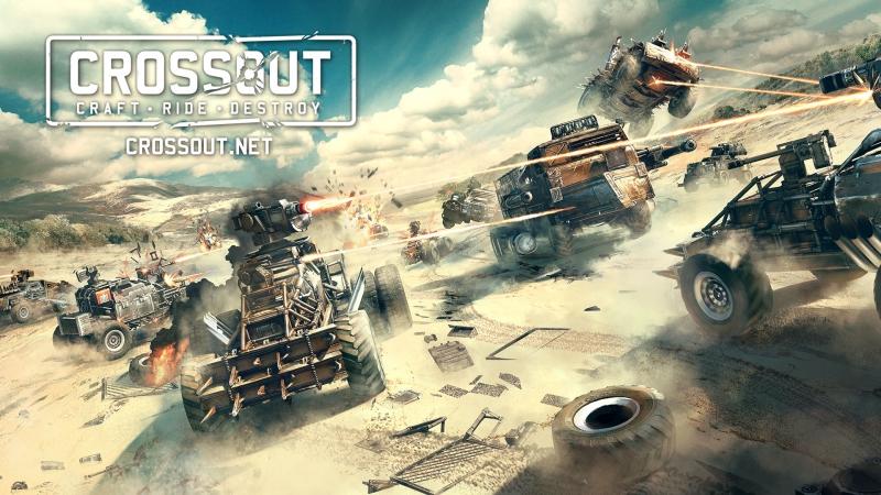 Crossout пробуем в бету! Собери свою боевую машину из постапокалиптического хлама сам! ч.3