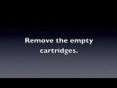 Canon MP280 Changing the cartridges YouTube
