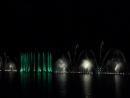 Шоу поющие фонтаны в озере Абрау Краснодарский край (часть 2) 07.09.2017