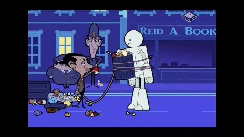 Мистер Бин s1e7,8 - Мороженное/Робот!