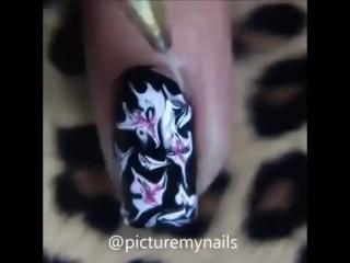 Абстрактный маникюр -- Abstract manicure