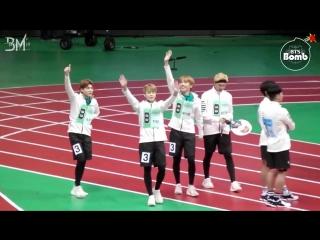 [RUS SUB][BANGTAN BOMB] BTS Relay race @ 2016 ISAC Chuseok Special