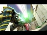 KaijuKeizer Погоня за Мегамонстрами УльтраРубеж Daikaiju Rush Ultra Frontier (2013) ep09 rus sub
