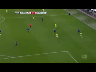 Вольфсбург - Дармштадт 1:0 видео