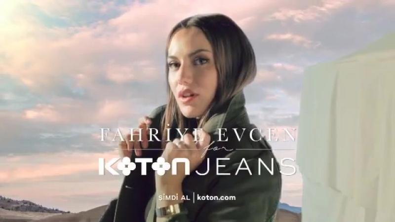 Sizin için tasarladım! ✂️👖💥💥💥💥💥 'FAHRIYE EVCEN for KOTON JEANS' ile özgür ruhlu moda jean'leri ve daha fazlasını keşfet! 🏜🌵⛺️ Oy