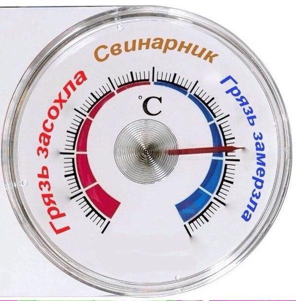 Саратовский термометр