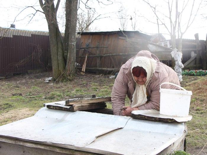 Железногорское село третью неделю живет без воды