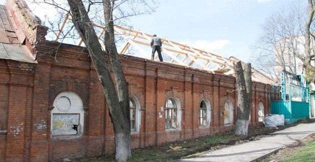 Началась реставрация завода упорных подшипников