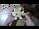 Японская головоломка из бруска своими руками _ Japanese puzzle game from the bar